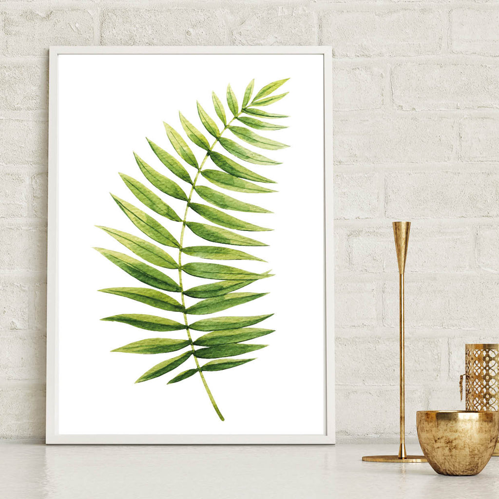 Fern Botanical Leaf Print - Couture Moments