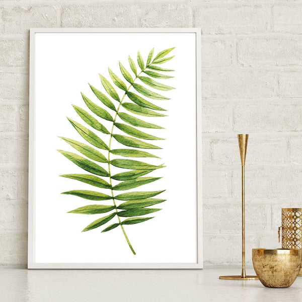 Fern Leaf Botanical Poster