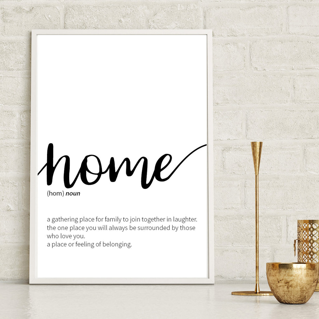 Home Definition Print - Couture Moments