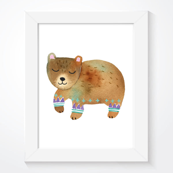 Scandinavian Woodland Bear - Couture Moments