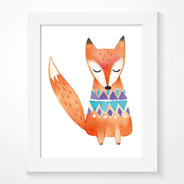 Scandinavian Woodland Fox