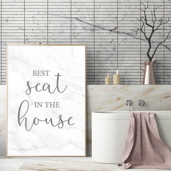 Best Seat In The House Print - Couture Moments
