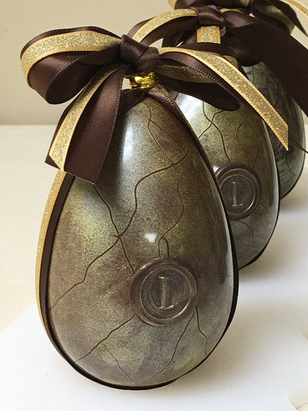 Signature Hand Painted Golden Egg