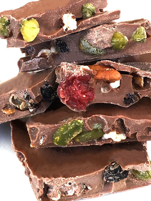 Milk Chocolate Fruit & Nut Bark
