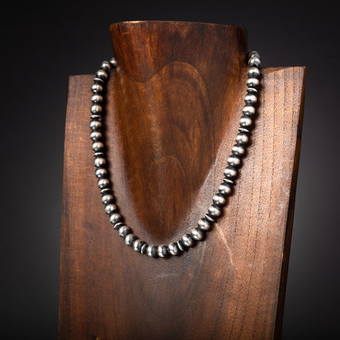 8 mm Santa Fe Pearl Necklace