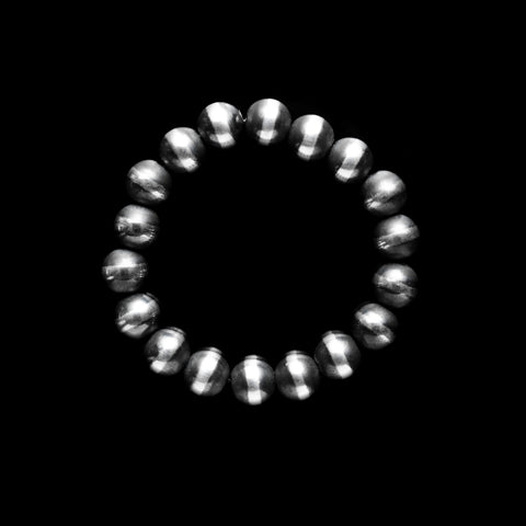 Santa Fe Pearl Stretch Bracelet - 10mm