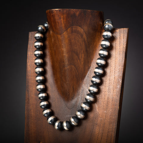 14mm Navajo Pearl Necklace