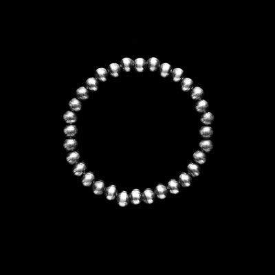 Navajo Pearl Stretch Bracelet - 6mm