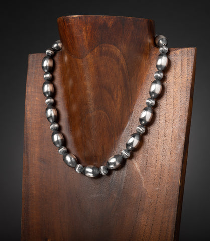 Multi Oval Bead Necklace