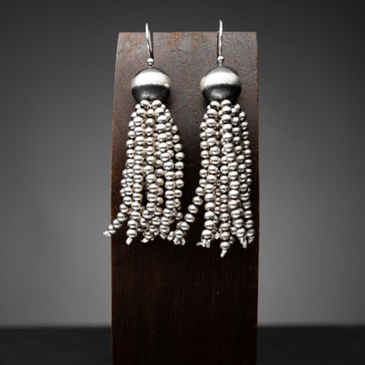 Santa Fe Pearl Tassel Earrings