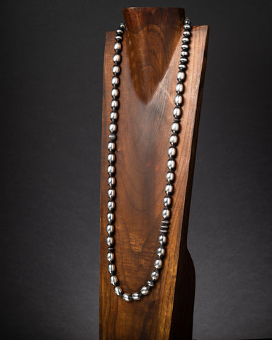 Oval Santa Fe Pearl Necklace