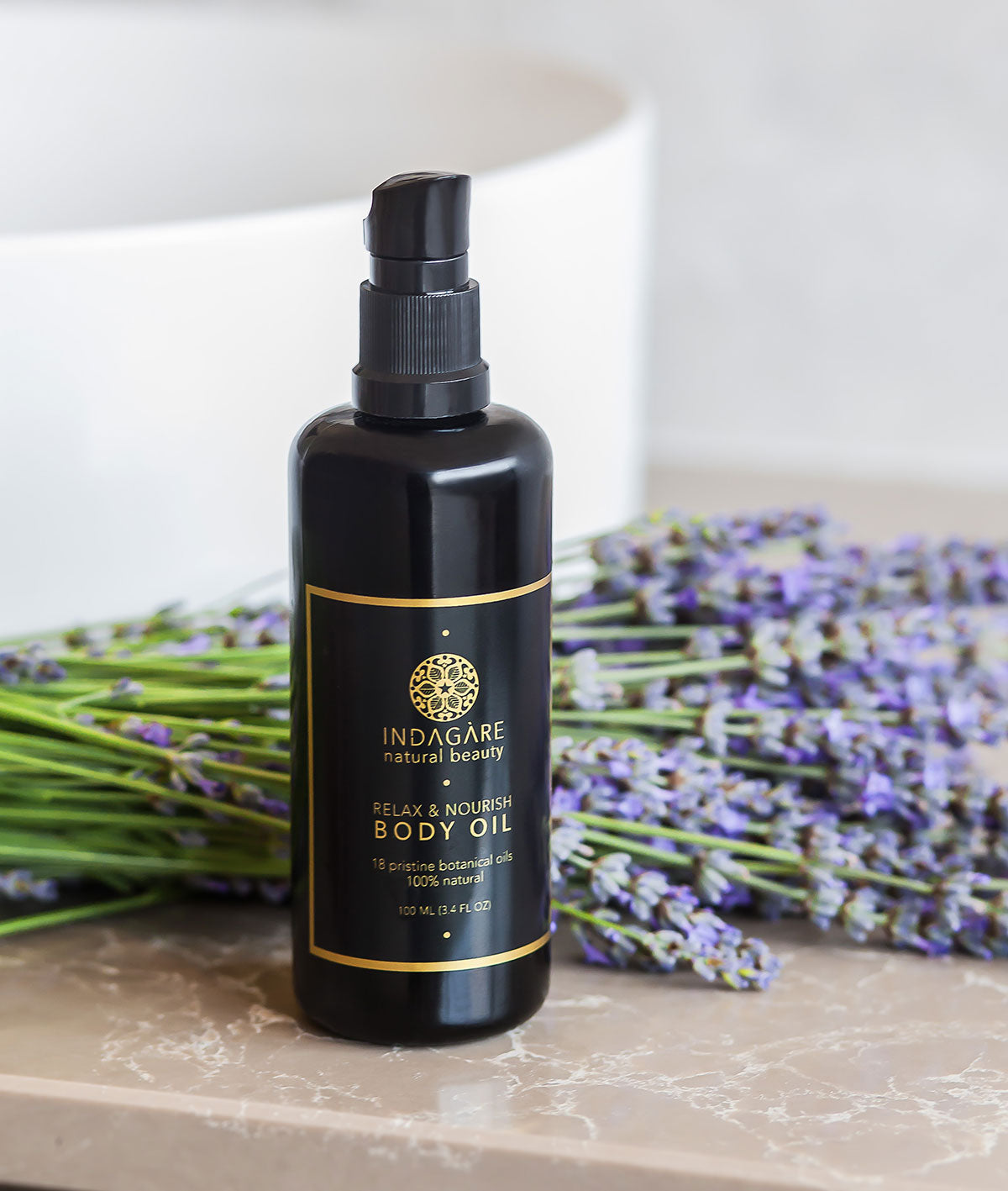 Indagare's Relax & Nourish Body Oil with Lavender