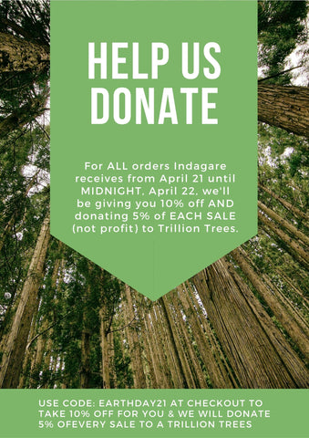 DONATE Trillion Trees Earth Day
