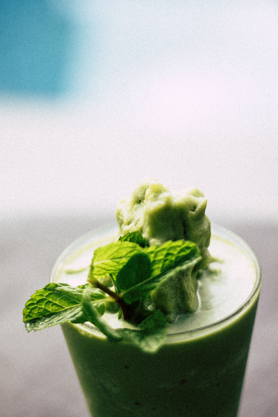 Green SMoothie for Healthy Skin