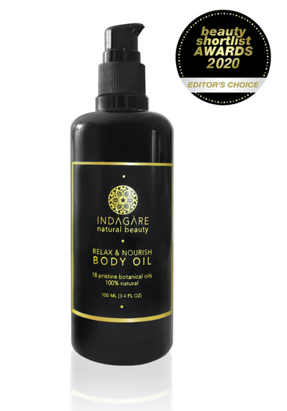 Award-Winning Organic Body Oil, Indagare Natural Beauty