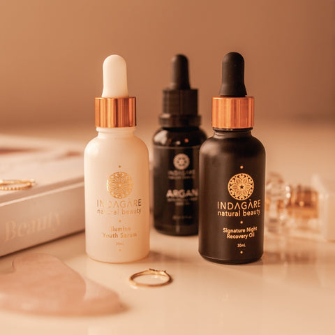 Indagare Natural Beauty Three Face Oils