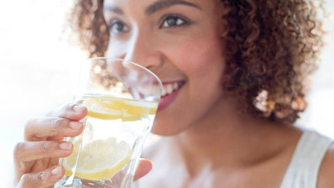 Drink Water With Lemon For Health