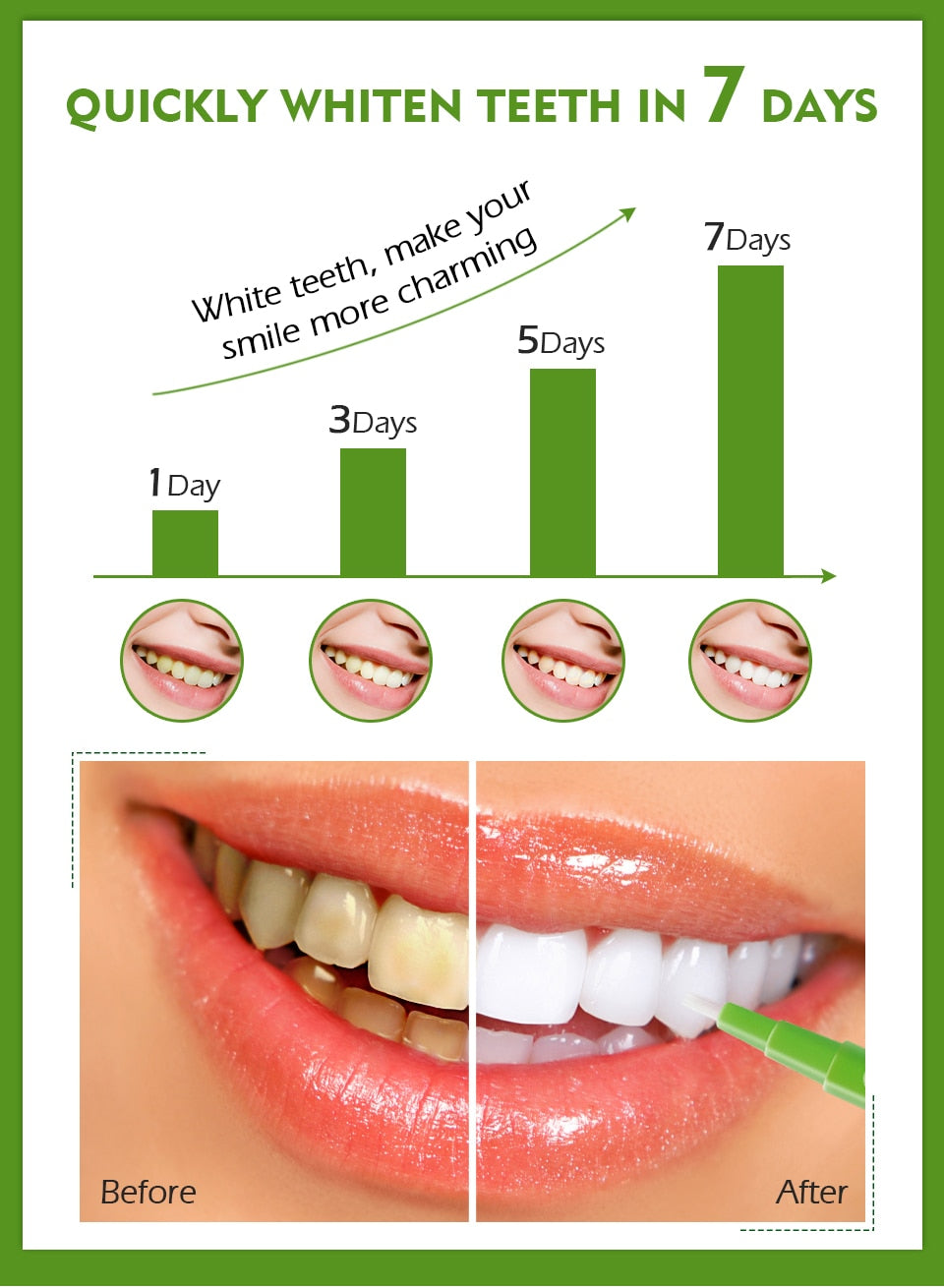 HOT SALE VIBRANT GLAMOUR Teeth Whitening Pen Cleaning Serum Remove Plaque Stains Dental Tools - MARI MAR SHOP