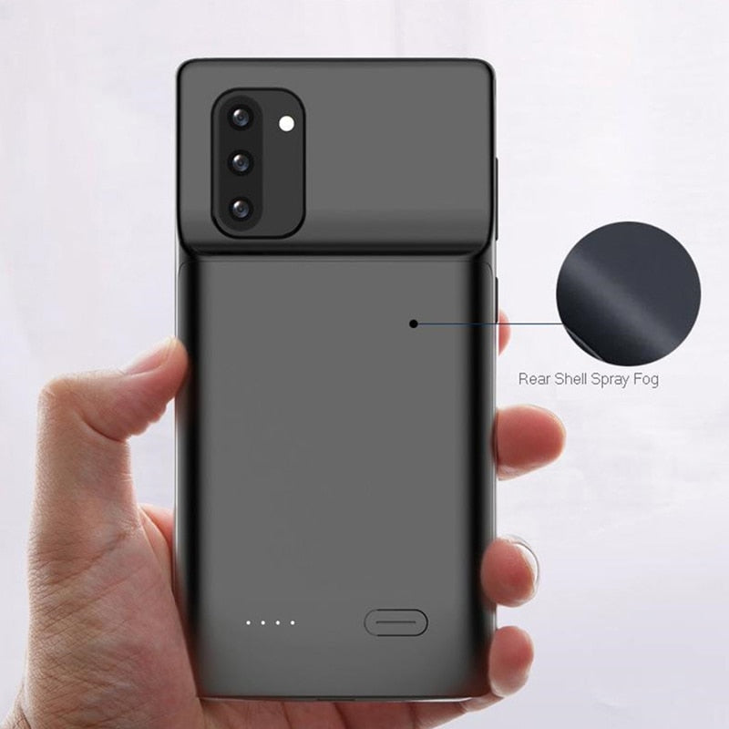 6000mAh Battery Case for Samsung Galaxy Note 10 Plus Soft TPU Charging Phone Power Cover - MARI MAR SHOP