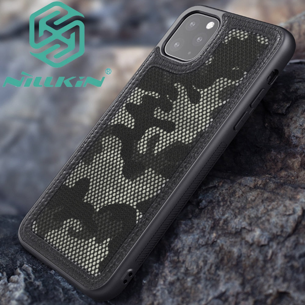 Military camouflage Camo Case For iPhone 11 Pro Max Protector Cover Shell - MARI MAR SHOP