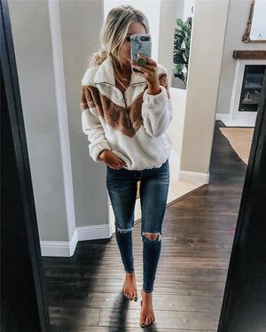 Women's Fleece Hoodies Autumn Winter Thicken Sweatshirts (wo1)