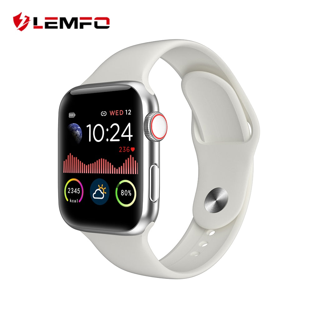 LEMFO Smart Watch 1.54 Inch Full Touch HD All Day Bright Display Heart Rate Monitor For Apple IOS Android Phone Smartwatch - MARI MAR SHOP