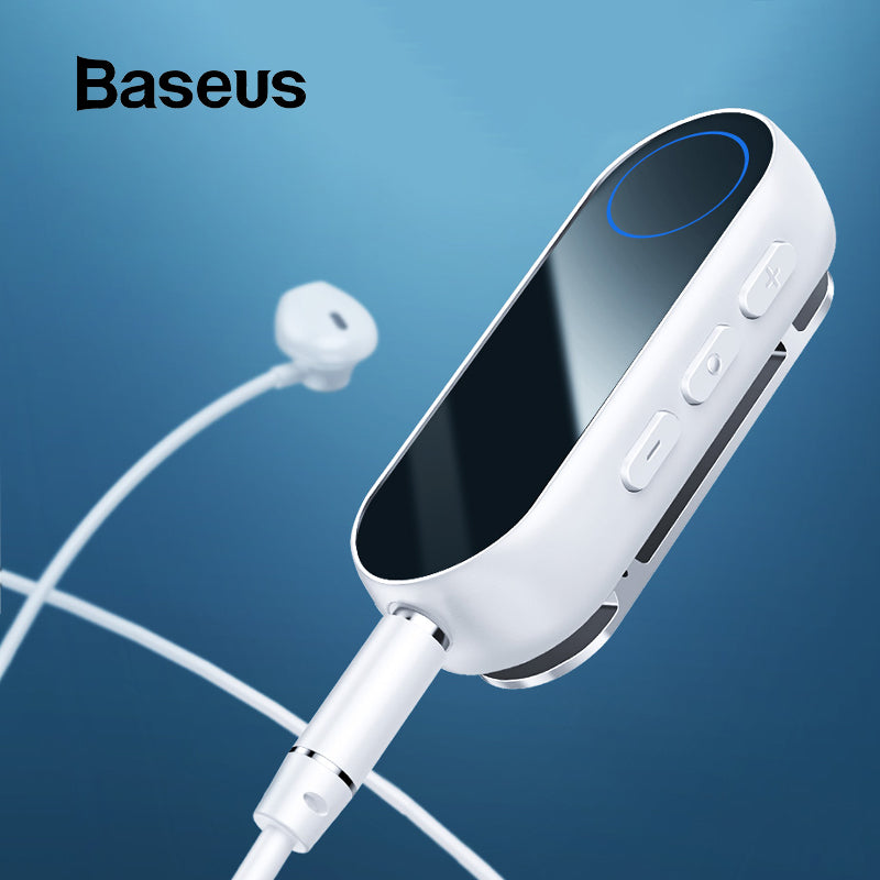 Baseus Bluetooth transmitter Wireless Bluetooth Receiver for Earphone Headphone Speakr 3.5 Aux Bluetooth Audio adapter receiver (cs1) - MARI MAR SHOP