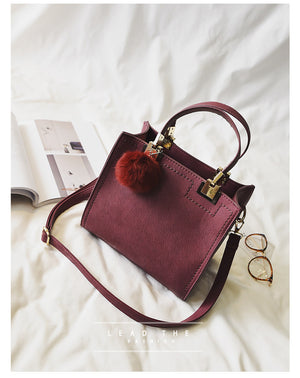 NEW HOT SALE Women bags High Quality Suede Leather Handbag - MARI MAR SHOP