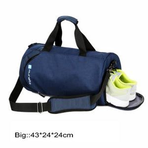 Nylon waterproof sports bag fitness bag profession men and women gym shoulder bag - MARI MAR SHOP