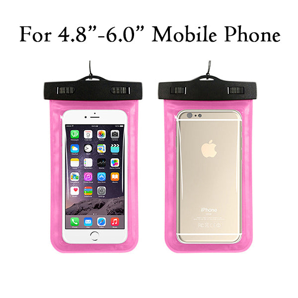 "Universal Waterproof Pouch Dry Case Cover For Universal 4.8""-6.0"" Phone Camera Mobile - MARI MAR SHOP"