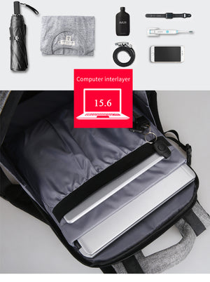 USB Charging 15.6 inches anti thief Backpack Laptop bag Large Capacity Casual Style - MARI MAR SHOP