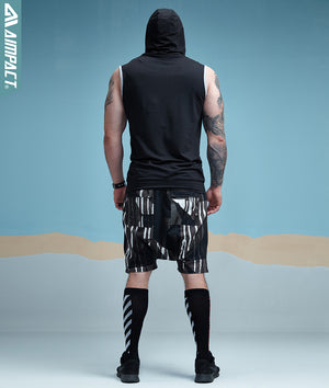 Aimpact Bodybuilding Sleeveless Hoodie (tm1) - MARI MAR SHOP