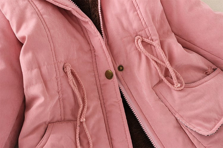 Women Winter Coat Thickening Cotton Winter Jacket (wo1) - MARI MAR SHOP
