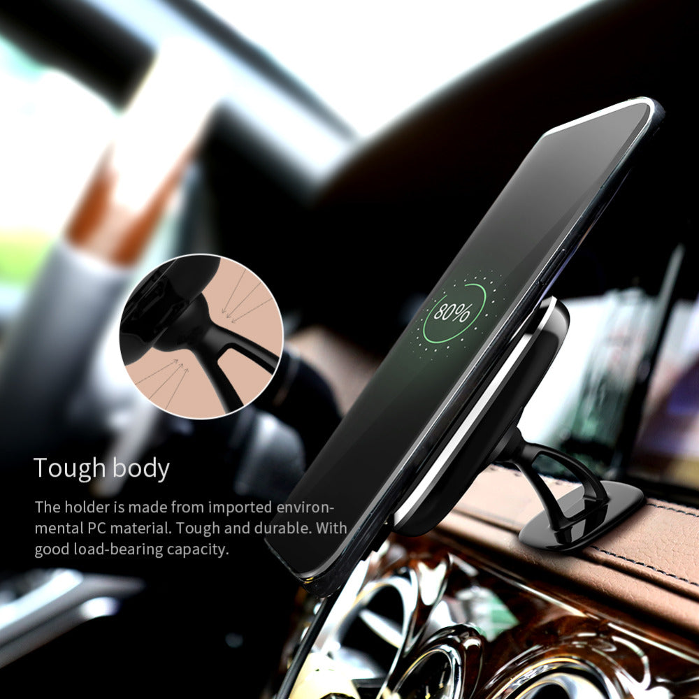 Universal Magnitec Qi Wireless Car Charger Pad 360 Degree Adjustable Wireless Holder Charger - MARI MAR SHOP