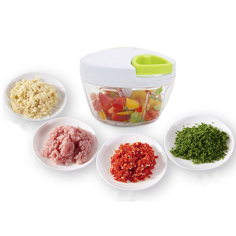 Manual Vegetable Fruit Hand Pull Food Chopper HOT SALE - MARI MAR SHOP