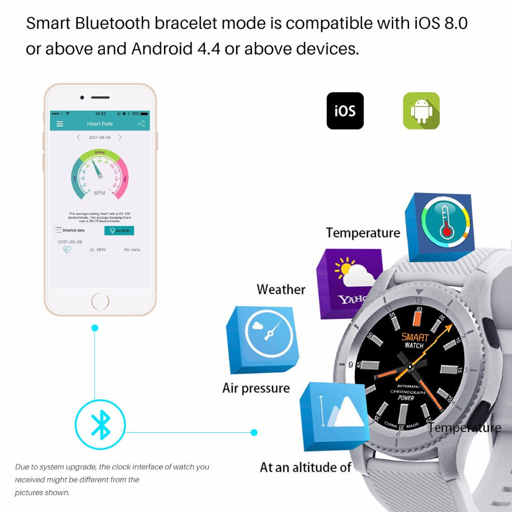 Fornorm Android Wireless Smart Watch - MARI MAR SHOP