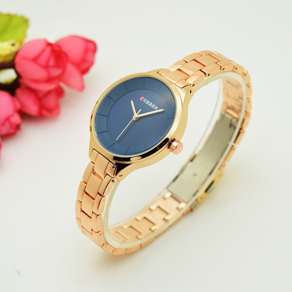 Women Luxury Stainless Steel Bracelet Watches