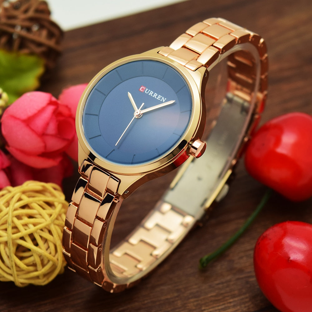 Women Luxury Stainless Steel Bracelet Watches - MARI MAR SHOP