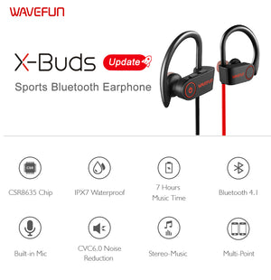 HOT SALE Waterproof Wireless Headphone Sports Bass (cs1) - MARI MAR SHOP
