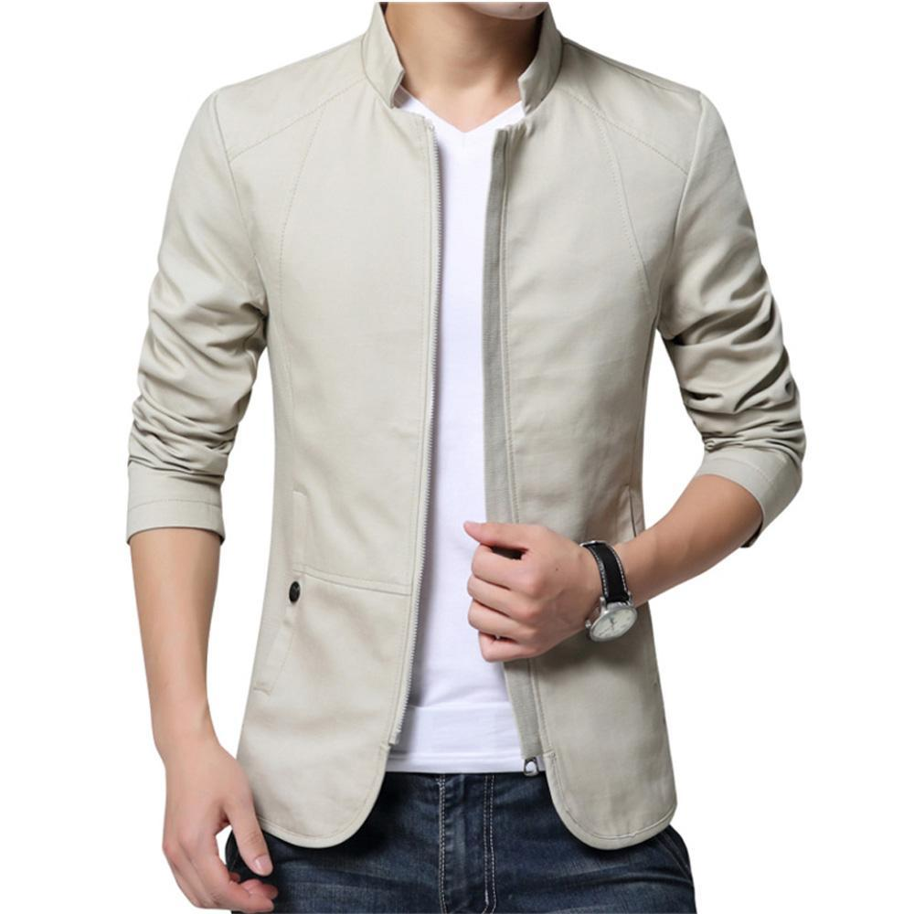 Men's Casual Jacket  Slim Fit (tm1) - MARI MAR SHOP
