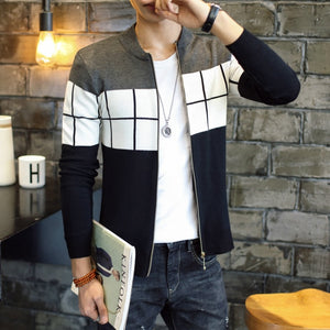 Autumn Winter Men Casual Warm Sweater Coat (tm1) - MARI MAR SHOP