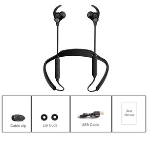 Bluetooth Headphones Wireless Sports Earphones Neckband Headset with Mic (cs1) - MARI MAR SHOP
