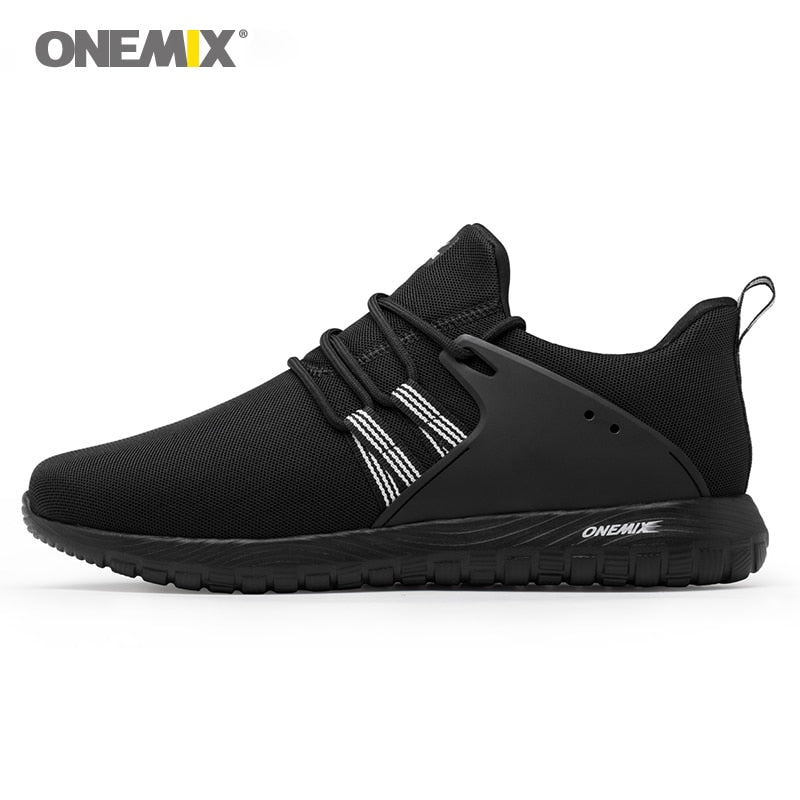 Unisex Onemix Breathable Mesh Running Shoes Sports Lightweight Sneakers - MARI MAR SHOP