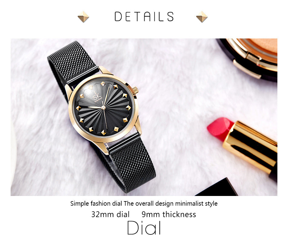 Women Fashion Quartz Luxury Bracelet Watches - MARI MAR SHOP