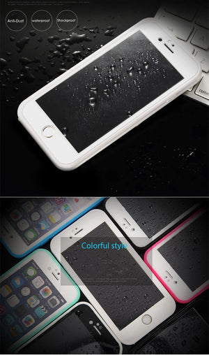 Swimming Diving Waterproof TPU Cover for iPhone 5 6 6s 7 7 Plus X Coque - MARI MAR SHOP