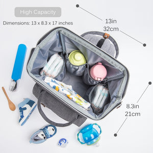 Mummy Maternity Multi-function Diaper Backpack Nappy Baby Bag - MARI MAR SHOP