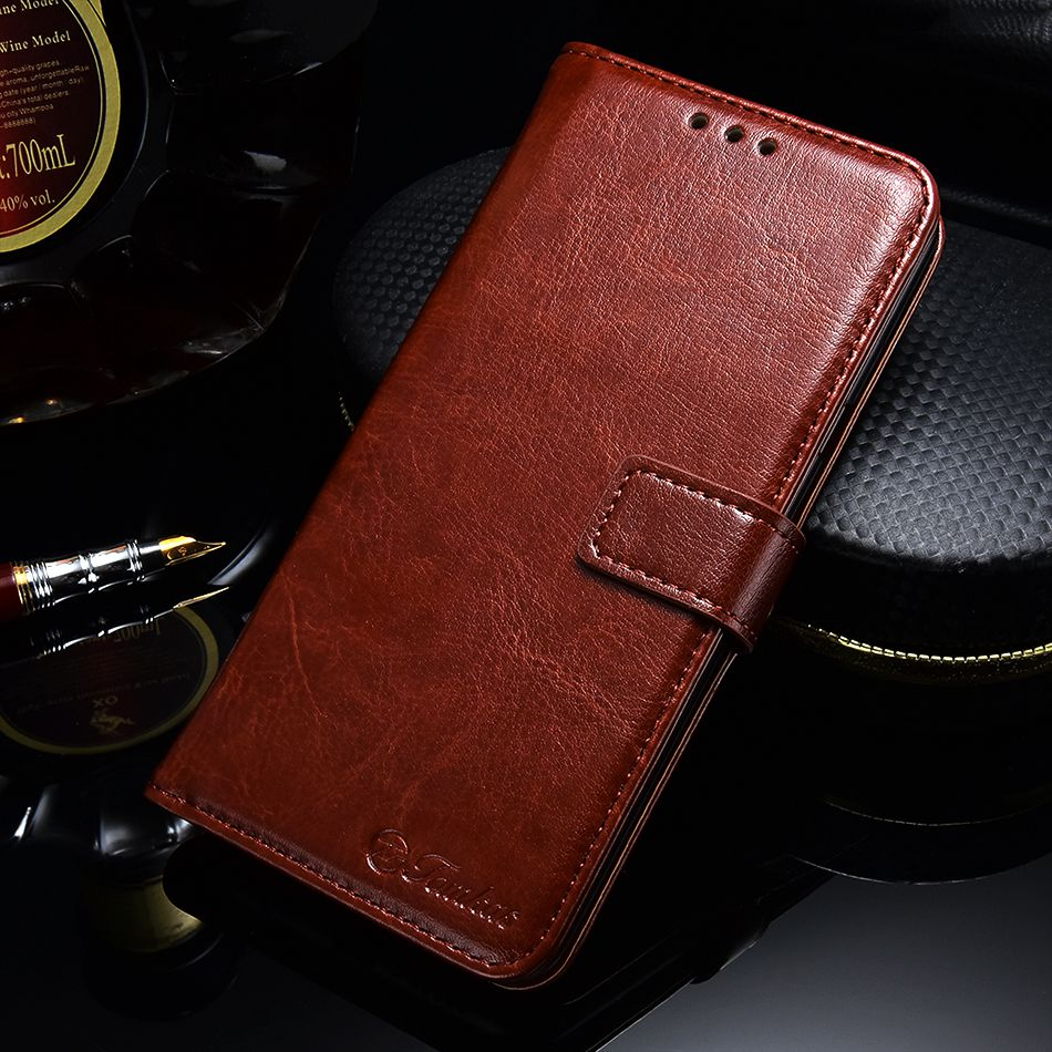Wallet Case For Samsung Galaxy Note 9 8 S7 Edge Luxury Leather 360 Cases - MARI MAR SHOP