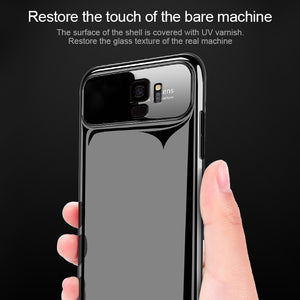 Luxury Hard Tempered Glass + PC Case Back Cover Bumper For Samsung Galaxy S8 S9 Plus - MARI MAR SHOP