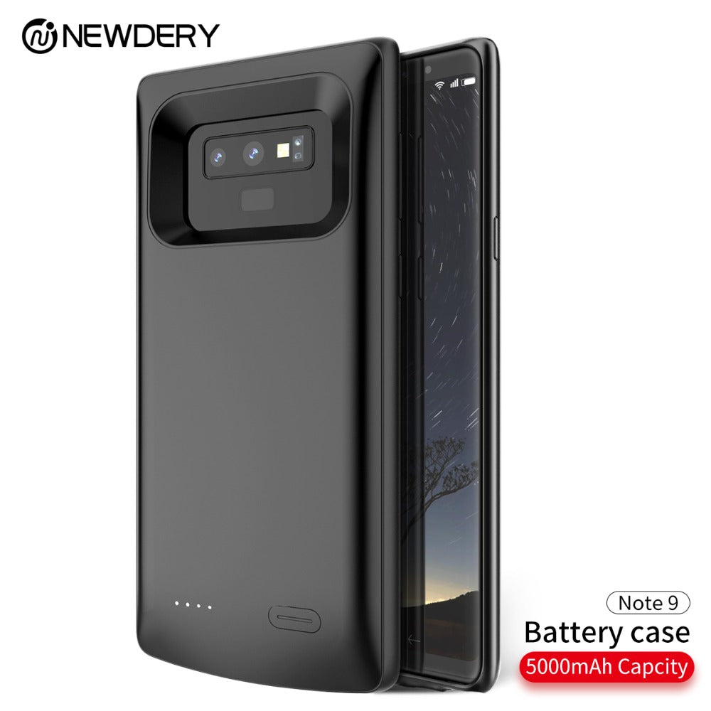 official photos 4e700 3dfa8 TPU Charging battery Case for Samsung Note 9 S9 S9 Plus Power Bank Charger  Case