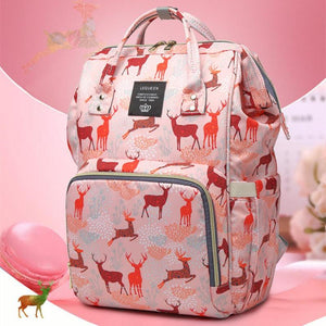 36 Styles LEQUEEN Mummy Maternity Nappy Bag Large Capacity Baby Diaper Bag - MARI MAR SHOP